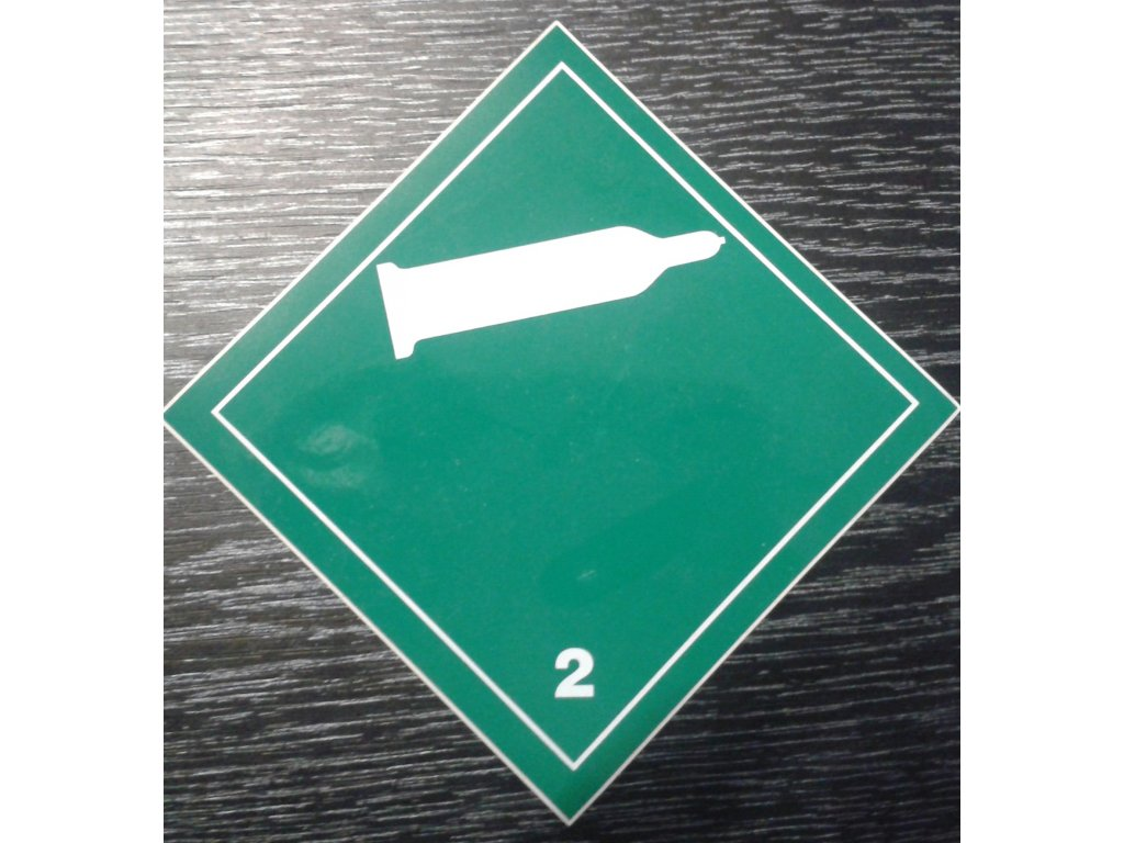 Tabulka - NEHOŘLAVÝ NEJEDOVATÝ PLYN č.2 - bílá láhev