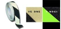 Protiskluzová páska  fotoluminiscenční 3 mx50 mm