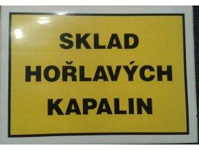 Tabulka- SKLAD HOŘLAVÝCH KAPALIN