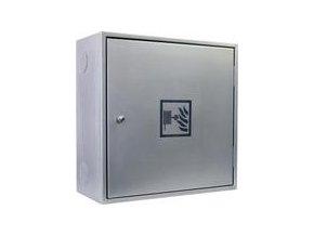 Hydrantový systém - D25 - celonerezový - 650x650x285 - 20 m