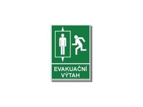 FTL - Evakuační výtah