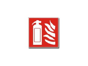 Tabulka pro označení hasicího přístroje