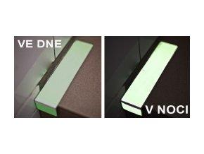 Značení na schody fotoluminiscenční