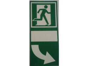 Tabulka -  pod kliku dveří tlačit v pravo