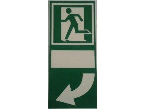 Tabulka -  pod kliku dveří tlačit vlevo