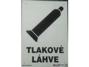 Tabulka - TLAKOVÉ LÁHVE