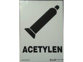 Tabulka - ACETYLÉN
