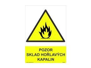 Tabulka - SKLAD HOŘLAVÝCH KAPALIN